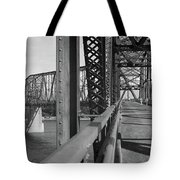 Route 66 - Chain Of Rocks Bridge Tote Bag