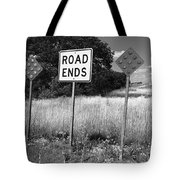 Route 66 - End Of The Road Tote Bag