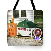 Route 66 Sinclair Station Tote Bag
