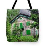 Rustic House Tote Bag