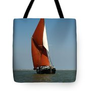 Sailing Barge Tote Bag by Gary Eason