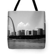Saint Louis Skyline Tote Bag