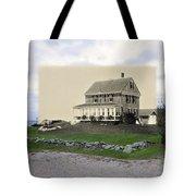 Sakonnet Point In Little Compton Rhode Island Tote Bag