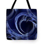 Seamless Background Fractal Tote Bag