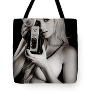 Sexy Photographer Tote Bag