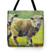 Sheep Painting Tote Bag