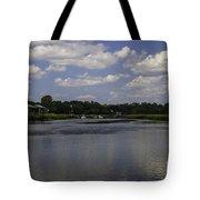 Sweet Balmy Breeze On Shem Creek Tote Bag