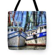 Shrimp Boats Season Tote Bag