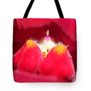 Snapdragon Named Red Chimes Tote Bag