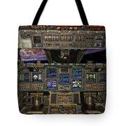 Space Shuttle Cockpit Tote Bag