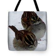3 Sparrows Tote Bag