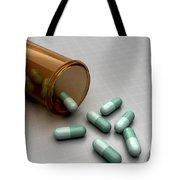 Spilled Medication Tote Bag