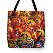 Spinning Tops Tote Bag