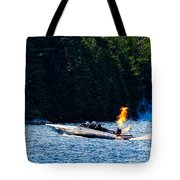 Squirt 2 Turbine Jet Boat Tote Bag