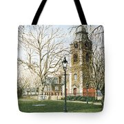 St Johns Church Wapping London Tote Bag