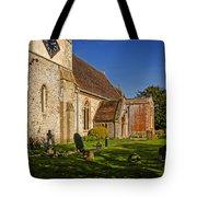 St Marys Church Kintbury Tote Bag