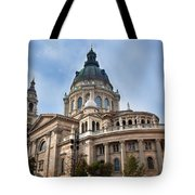 St. Stephen's Basilica In Budapest Tote Bag