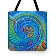 Stairway To Lighthouse Heaven Tote Bag