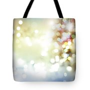Starry Background Tote Bag