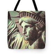 Statue Liberty Tote Bag