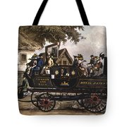 Steam Carriage Tote Bag