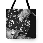 Guitarist Stevie Ray Vaughan Tote Bag
