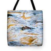 Stream Great Smoky Mountains Painted Tote Bag