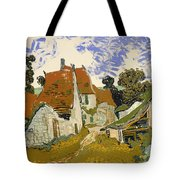Street In Auvers-sur-oise Tote Bag