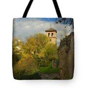 Street In Historic Albaycin In Granada Tote Bag