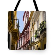 Streets Of Seville - Magic Colours Tote Bag