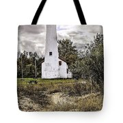 Sturgeon Point Lighthouse Tote Bag