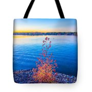 Sunset At Lake Wylie Tote Bag