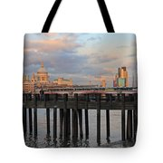 Sunset Over St Pauls Cathedral London Tote Bag