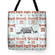 Superbowl Poster Tote Bag