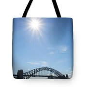 Sydney Harbour Bridge In Australia  Tote Bag