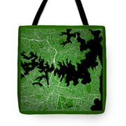 Sydney Street Map - Sydney Australia Road Map Art On Color Tote Bag