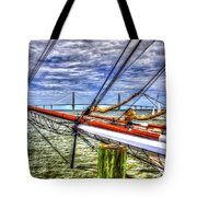 Pointing South Tote Bag