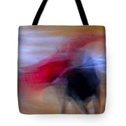 Tauromaquia Abstract Bull-fights In Spain Tote Bag by Guido Montanes Castillo