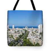 Tel Aviv Israel Elevated View Tote Bag