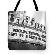 Terre Haute - Indiana Theater Tote Bag