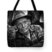 Textile Merchant Tote Bag