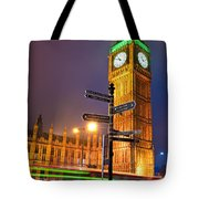 The Big Ben - London Tote Bag