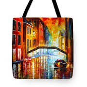 The Canals Of Venice Tote Bag