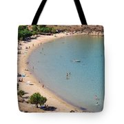 The Famous Psili Ammos Beach Tote Bag