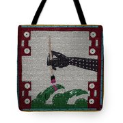 The Helping Hand Tote Bag by Robert Margetts