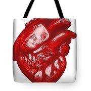 The Human Heart Tote Bag