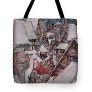 'the Night Before Christmas Tote Bag