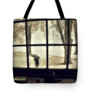 The  October Snow Tote Bag