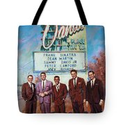 The Rat Pack Tote Bag