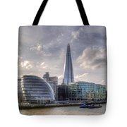 The Shard And City Hall Tote Bag